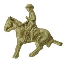 """1 1/4"""" Cowboy On Horse"""