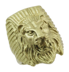 "1 1/4"" Egyptian Lion Ring"