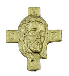 "1"" Christ and Cross"