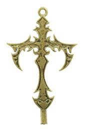 """1 3/4"""" Gothic Cross"""