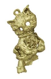 "7/8"" Hollow Eyed Cat"