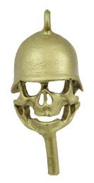 """1 1/4"""" Skull in Army Helmet"""