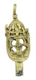 "1 1/4"" Viking King Skull"