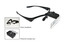 LED Magnifier with 5 Lenses