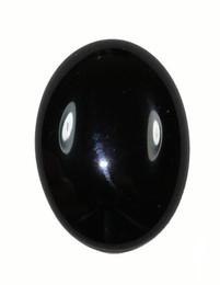 Black Onyx Oval Cabochon 20 x 15 mm