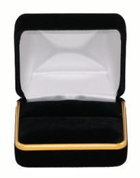 Velour Double Ring Box