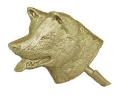 "1 3/8"" Wolf Head"