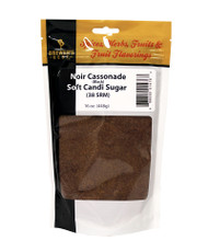 Noir (Black) Soft Candi Sugar 38 SRM 1 Lb Bag