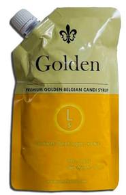 Golden Belgian Candi Syrup 5 Lovibond 1 Lb Pouch