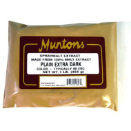 Muntons 1 Lb Plain Extra Dark Spray Dried Malt Extract