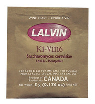 K1-V1116 Lalvin Active Freeze- Dried Wine Yeast
