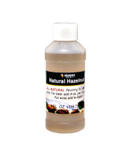 Natural Hazelnut Flavoring Extract 4 Oz