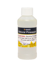 Natural Pineapple Flavoring Extract 4 Oz