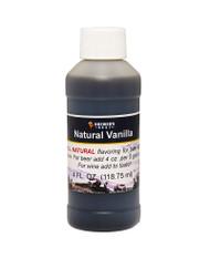 Natural Vanilla Flavoring Extract 4 Oz