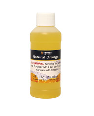 Natural Orange Flavoring Extract 4 Oz