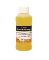 Natural Orange Flavoring Extract 4 Oz