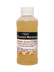 Natural Toasted Marshmallow Flavoring Extract 4 Oz