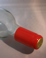Red PVC Shrink Capsules 30/Bag