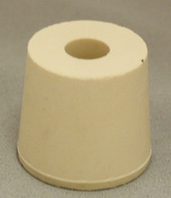 #5.5 Drilled Rubber Stopper