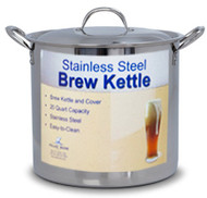 20 Qt Stainless Steel Brewing Pot With Lid