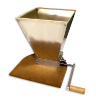 Roller Grain Mill With Hopper