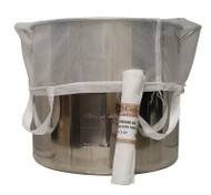 "BIAB Straining Bag With Handles 24"" X 26"" (600 Micron)"