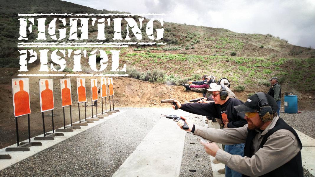 Fighting pistol