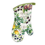 Tuscan Grove Oven Mitt by Michel Design Works - nicely padded and quilted, perfect heat protection.