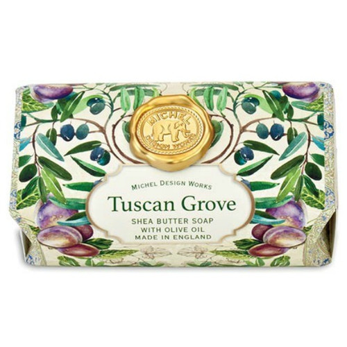Tuscan Grove Large Bar Soap by Michel Design Works