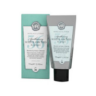 Morlage and Yorke White Orchid and Ginger Hand Cream 75 ml tube - boxed.