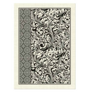 Classy and stylish Design! Black Florentine. Dont you love the 2 coordinating patterns in the black and white!