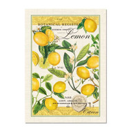 Lemon Basil Cotton Tea Towel by Michel Design Works