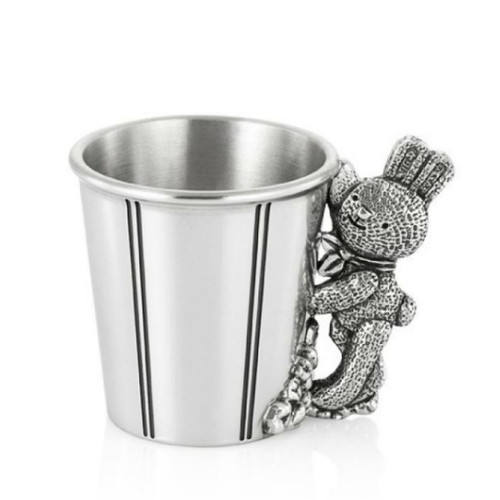 Baby's Mug - Popcorn from Royal Selangor Bunnies Day Out Collection - treasured keepsake