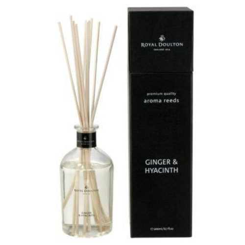 ginger and hyacinth reed diffuser from Royal Doulton. Black gift boxing is smart!