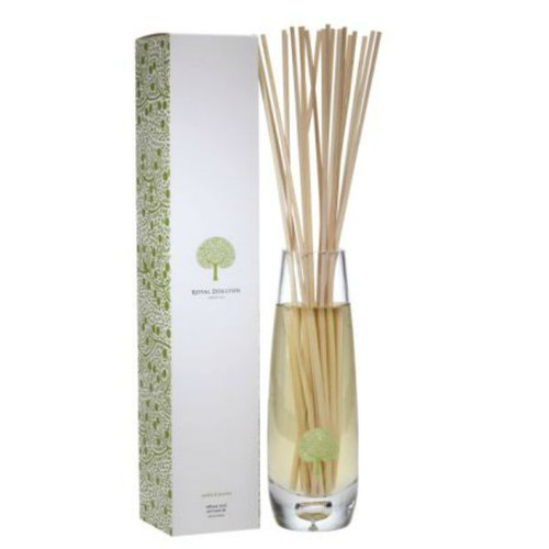 tall vase diffuser with vanilla and jasmine fragrance oil