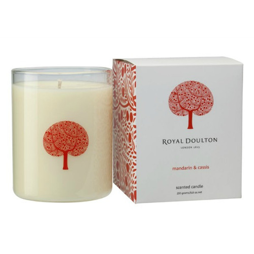 Royal Doulton Candle Mandarin and Cassis