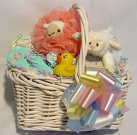 Infant Bathtime Basket
