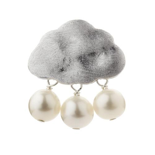 Silver Cloud Pearls Pendant