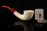 W1009 IMP Meerschaum Pipe - Hand Carved in a fitted CASE