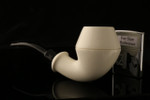 W1067 IMP Meerschaum Pipe - Hand Carved in a fitted CASE