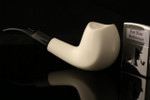 W1079 IMP Meerschaum Pipe - Hand Carved in a fitted CASE