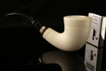 W1111 IMP Meerschaum Pipe - Hand Carved in a fitted CASE