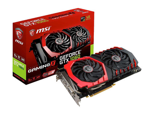 MSI GAMING GeForce GTX 1060 6GB GDDR5 DirectX 12 VR Ready (GeForce GTX 1060 GAMING X 6G)