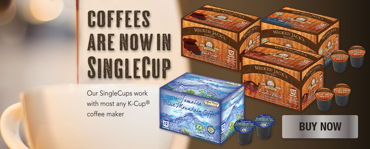 Coffees are now in SingleCup