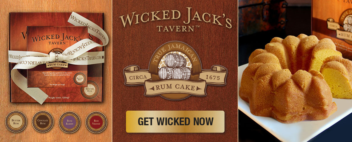 Wicked Jack's Tavern Rum Cakes