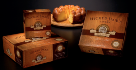Wicked Jack's Tavern true Jamaican Rum Cakes