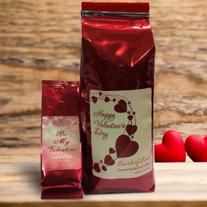 A Valentine's Coffee and Buddy- Red