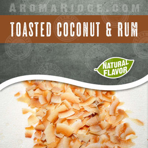 Toasted Coconut Rum-All Natural Flavored Coffee