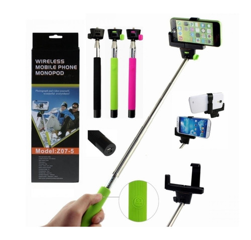 bluetooth shutter extendable handheld selfie stick monopod for iphone android. Black Bedroom Furniture Sets. Home Design Ideas