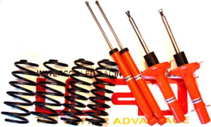 WRD Advantage CUP Kit, Includes WRD Advantage Sport Springs with Koni SRT.T Shocks for Golf/GTI MK4